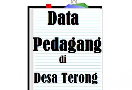 DATA PEDAGANG DI DESA TERONG