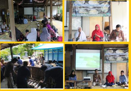 Pelatihan Pengelolaan dan Pengolahan Di Dusun Saradan Bersama KKN UMY