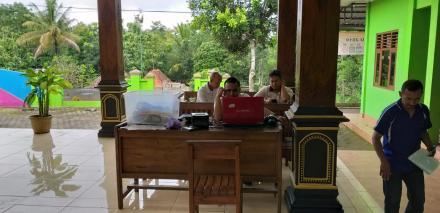 Perekaman E-KTP Keliling di Desa Terong