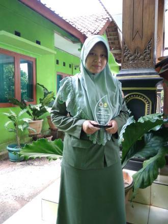 Desa Terong meraih Penghargaan