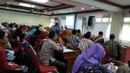 Sosialisasi Lapor Bantul (Road Map dan Rencana Aksi )