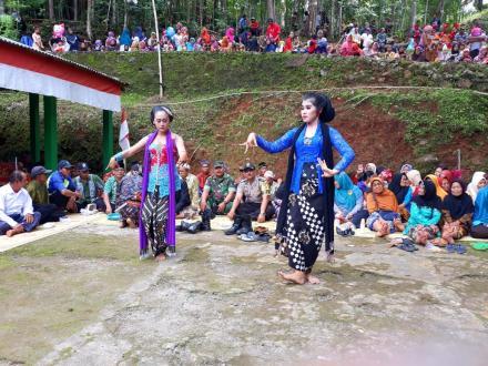 Pentas Seni Tayub Merti Dusun Saradan