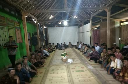 Kenduri Akbar Dalam Rangka Merti Dusun Pedukuhan Pancuran