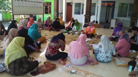 Pertemuan Poskokesdes Desa Terong