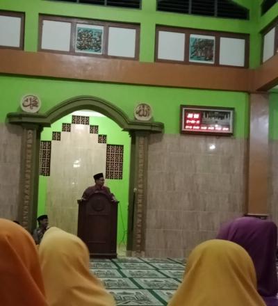 Pengajian Dalam Rangka Menyambut Bulan Ramadhan di Pedukuhan Sendang Sari