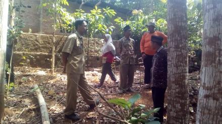 Survei Lokasi Pembangunan Gedung Baru PAUD DAHLIA Pedukuhan Pancuran