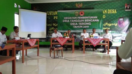 Sosialisasi Pembentukan DESTANA Desa Terong Tahun 2019