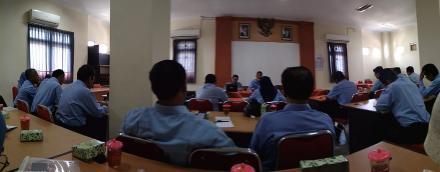 Bimtek Peningkatan Kapasitas Pamong Desa Dalam Pelaksanaan Musrenbangdes Angkatan I