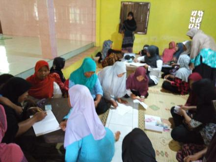 Pertemuan Dasawisma RT 02 Dusun Pencitrejo