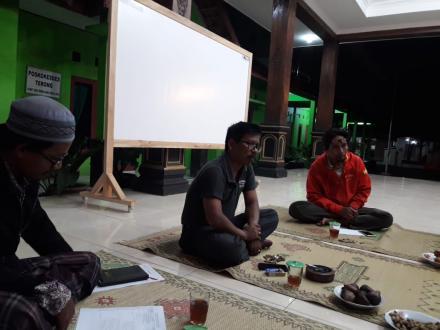 Rapat Koordinasi LPMD Desa Terong Menghadapi Lomba Desa