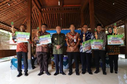 Pemenang Lomba Kebersihan Lingkungan Desa Tingkat Kabupaten 2020