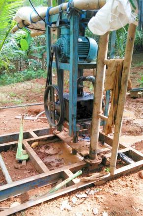 Pembuatan Sumur Bor untuk Pemenuhan Air Bersih Warga Pedukuhan Pancuran RT 03