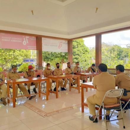 Rakor Lurah dan Dukuh Kalurahan Terong, 20 September 2021