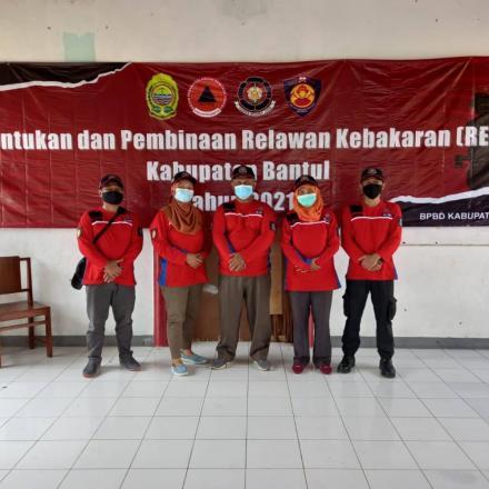 Bimtek Pemadaman Kebakaran, oleh BPDB Bantul