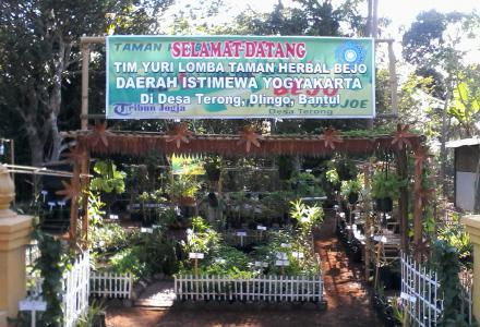 LOMBA TANAMAN HERBAL